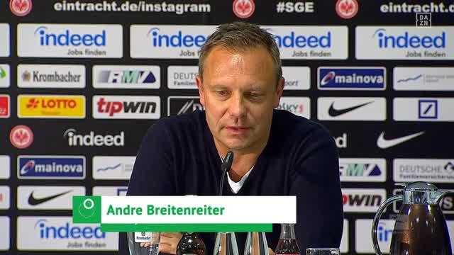 Breitenreiter: Nicht gut genug für Bundesliga