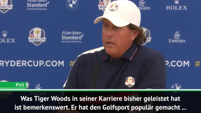 Ryder Cup: Mickelson: Woods legt erst los