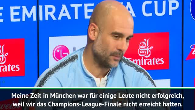 Guardiola klagt: CL-Titel-Druck wie bei Bayern