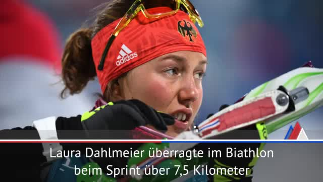 Olympia: Dahlmeier und Wellinger im Goldrausch