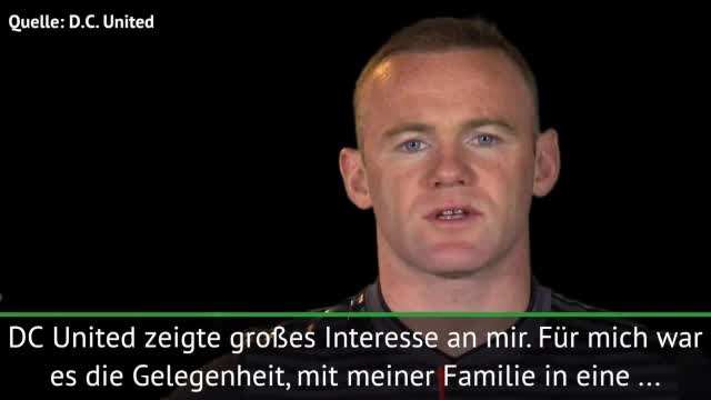 Wechsel in die MLS! Rooney: Spannendes Projekt