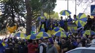 Copa Libertadores: Boca-Fans feiern in Madrid