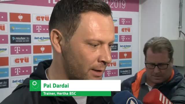 """Hertha enttäuscht: Dardai """"muss runterschlucken"""""""