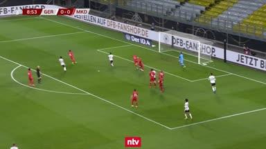Die Highlights von Deutschland vs. Nordmazedonien