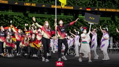Paralympische Spiele in Tokio eröffnet