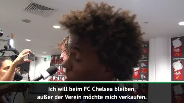 "Willian: ""Möchte bei Chelsea bleiben"""