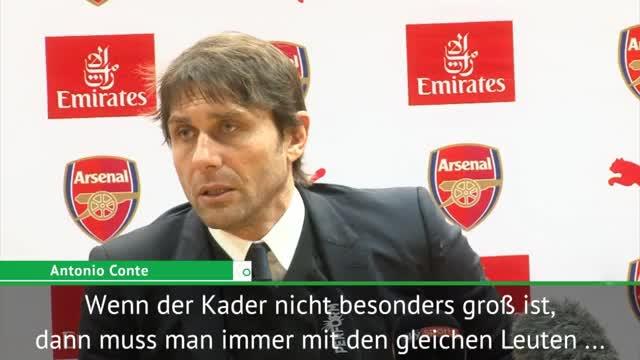 """Conte: Kleiner Kader? """"Schlafe gar nicht mehr"""""""