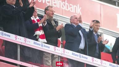 Bayern-Chefs entschuldigen sich für Tribünen-Posse