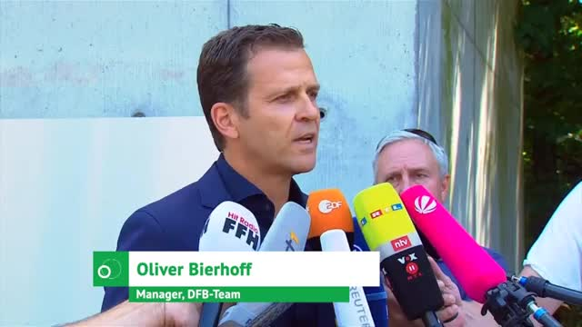 Streit mit Löw? Bierhoff kontert Gerüchten