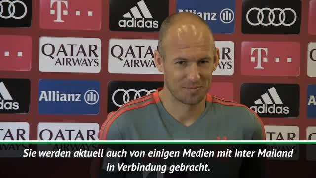 Robben bestätigt Angebote: Papa hat viel zu tun
