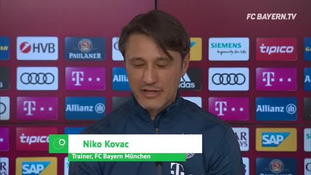 Kovac über Titel-Endspurt, Eintracht und BVB
