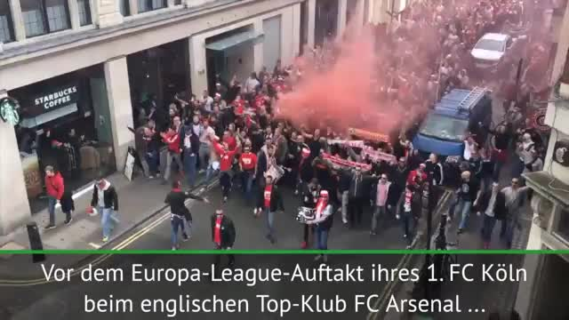 Europa ruft, London Calling: FC-Fans on fire!